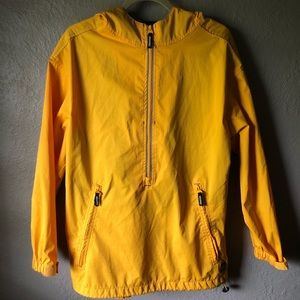 STARTER Yellow and Navy Windbreaker Men's Small